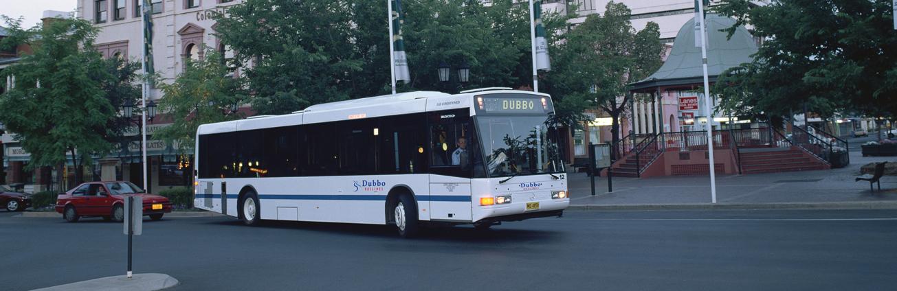 Dubbo Buslines bus